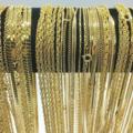 Buy Now: Necklaces+ Bracelets 100 Pcs Chain Assortment 14 kt Gold Finish