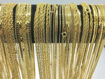 Buy Now: 72 Piece Chain Assortment  ( All Necklaces)14 KT  MADE IN USA