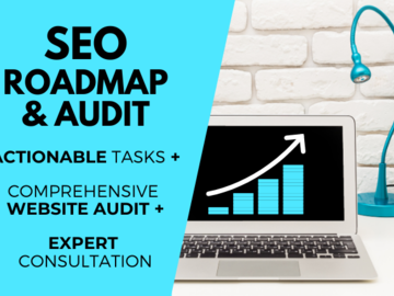 Offering online services: 1 Hour Website Audit Roadmap Session