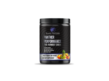 Selling with online payment: Panther Performance Nitric shock (fruit punch)