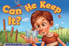 Selling with online payment: Can He Keep It? Children's Book