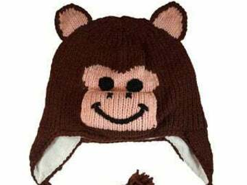 Selling with online payment: Knitted Beanie Hat with Ear Flaps