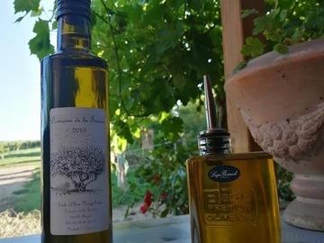 Vente avec paiement en direct: Petit producteur, vend huile d'olive vierge bio,