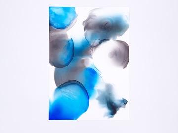 : Mist - Original Alcohol Inks Painting