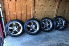 Selling: Porsche Wheels/Tires 8.5/11 x 20 5x130