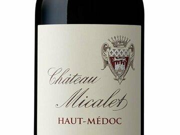 Vente avec paiement en direct: Château Micalet 2017 vin bio du Haut Médoc
