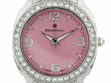 Selling with online payment: Crystal Bezel Ladies Watch