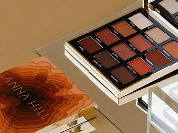 For Sale: Anna Hill earth eye shadow palette