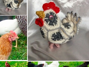 Sale retail: Coq au crochet