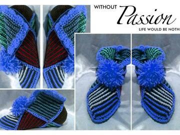 Vente au détail: Modèle chaussons