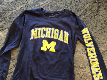 Selling A Singular Item: Michigan long-sleeve