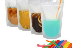 Buy Now: 50Pcs Disposable Drink Pouch