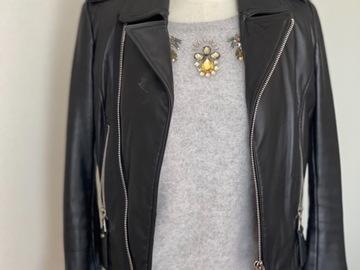 For Sale: Black real leather jacket