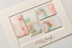 : Cotton Candy - Original art magnets