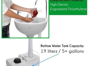 Buy Now: 5 Gallon Portable Camping Sink