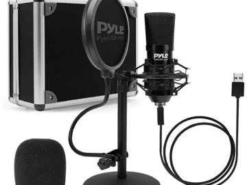 Buy Now: USB Microphone Podcast Recording Kit