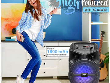 Buy Now: Portable Bluetooth PA Speaker and Karaoke System