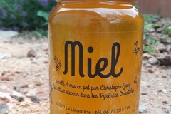 Vente avec paiement en direct: MIEL des Pyrénées Orientales