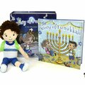 "Liquidation/Wholesale Lot:  A Hanukkah Tradition ""The Story Of Funukkah"" Boy Plush Doll"