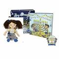 "Liquidation/Wholesale Lot: A Hanukkah Tradition ""The Story Of Funukkah"" Girl Plush Doll"
