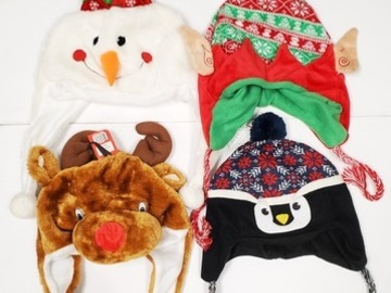Buy Now: Cozy Zone – Assorted Novelty Holiday Fun Hats