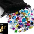 Buy Now: Buy 1 Get 1 Free !1,000 pieces Swarovski crystal stones lot mixed