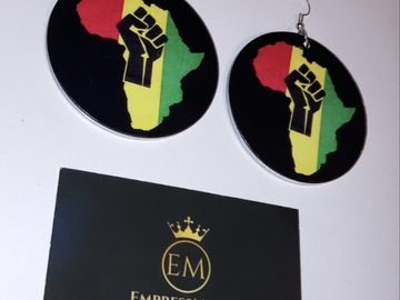 For Sale: Black Unity Earrings