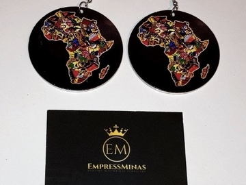 For Sale: Culture Mapped Earrings