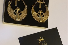 For Sale: Vintage Ankh Style Earrings