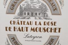 Vente avec paiement en direct: Château La Rose de Haut Mouschet 2014 (Puisseguin)