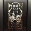 Vente: Oeuvre d'art STAR WARS Dark side - numerotée à 100 ex.