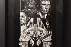 Vente: Oeuvre d'art STAR WARS Falcon crew - Limitée à 100 ex.