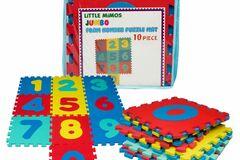 Buy Now: 11pcs of Foam Number Floor Puzzle Mat
