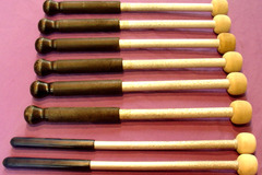 Selling with online payment: 4 pair of aluminum shafted mallets