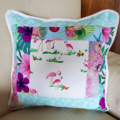 Selling with online payment: Tropical Florida Flamingo Pillow