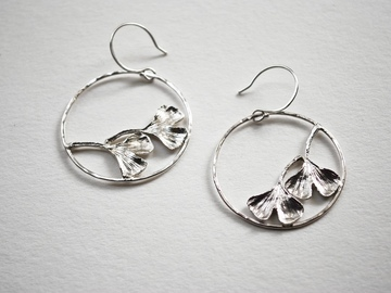 Selling: Gingko Leaf Earrings