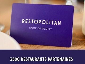 Vente: Carte restaurant Restopolitan (119€)