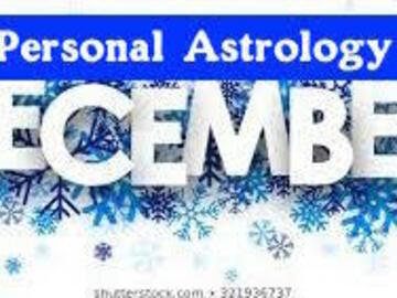 Selling: YOUR UNIQUE DECEMBER ASTROLOGY