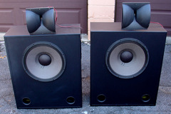 Selling with online payment: Pair of JBL 3678 THX Movie Theater Cinema Screen Speakers w/ horn