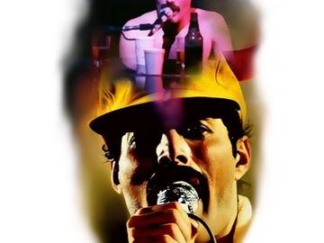 Tattoo design: Freddie Mercury