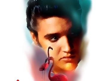 Tattoo design: Elvis Presley