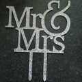 Ilmoitus:  upea Mr & mrs hääkakun koriste