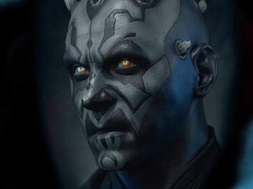 Tattoo design: Star Wars - Darth Maul