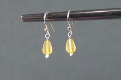 Selling with online payment: Champagne Drop Earrings