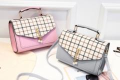 Liquidation/Wholesale Lot: (24) Premium Women Crossbody Fashion Handbag Purse Tote Style-4