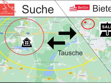 Tauschobjekt: Grundstück Rand Berlin im Tausch gegen Immoblie in Brandenburg