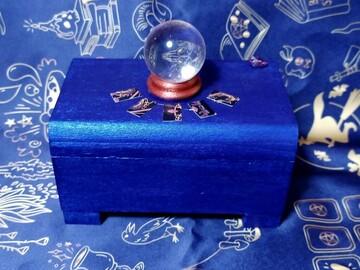 Vente au détail: Boite à bijoux lumineuse, thème voyance (plusieurs modèles dispon