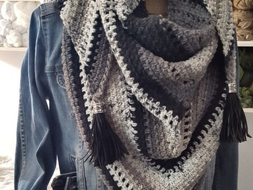 Selling with online payment: Wrap Triangle Scarf Shawl