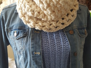 Selling with online payment: Hand Crochet Neckwarmer