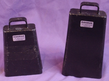 Selling with online payment: Pair of DANMAR cowbells